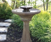TWO TIER CHELSEA FLUTED FOUNTAIN