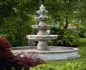 RENAULT EXTRA LARGE FOUR TIER FOUNTAIN ON 12\' POOL