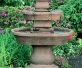 TWO TIER OVAL ASSISI FOUNTAIN