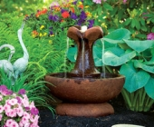 SMALL CLOVER LEAF FOUNTAIN