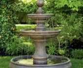 OPAL TWO TIER FOUNTAIN WITH POOL