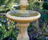 ONE TIER ROMAN PINECONE FOUNTAIN
