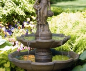 TWO TIER LADY OF THE ARBOR FOUNTAIN