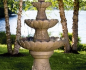 FOUR TIER HUMMINGBIRD FOUNTAIN